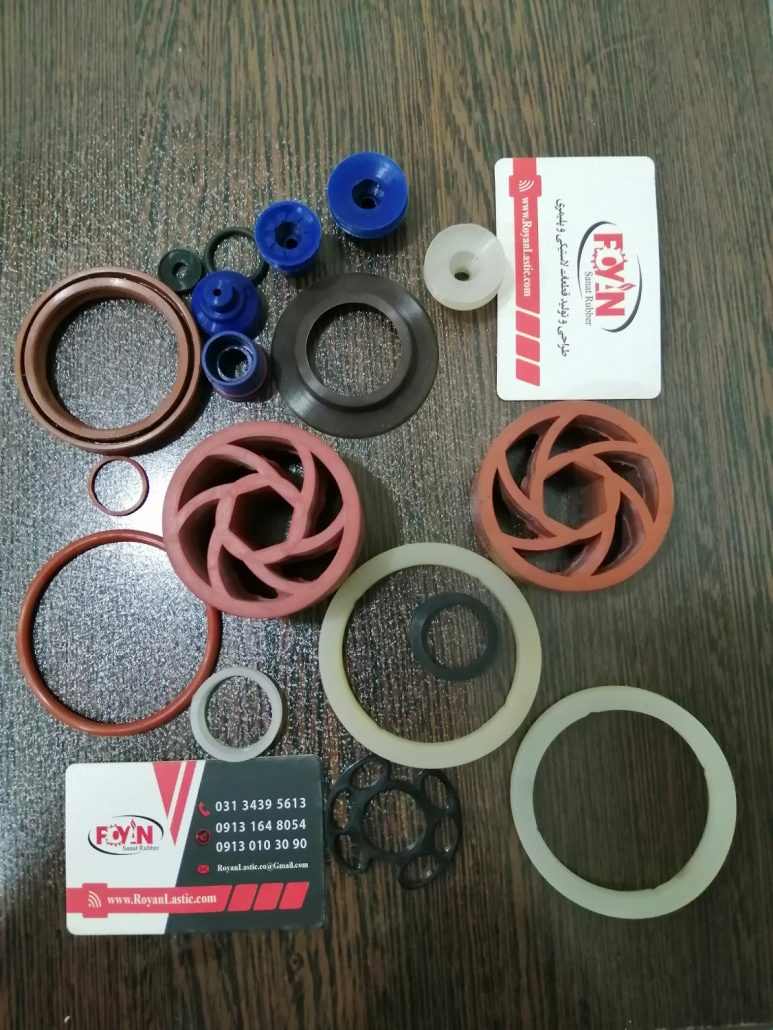 لاستیک سازی رویان صنعت تولید کننده قطعات سیلیکونی