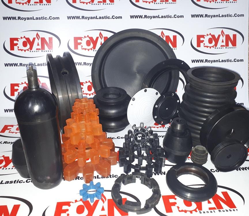 قطعات سیلیکونی یا محصولات سیلیکونی و لاستیکی